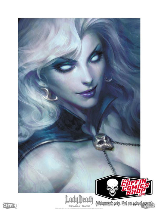 "Lady Death: Deadly Gaze 18x24"" Fine Art Print"