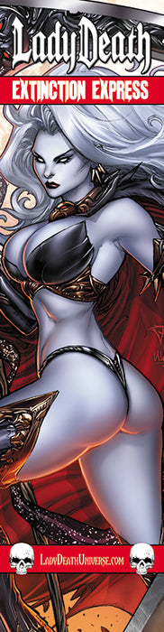 Lady Death: Extinction Express Bookmark