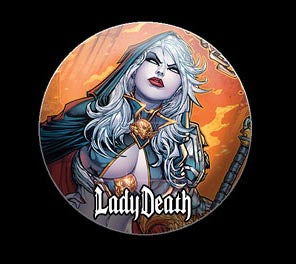 Lady Death: Executioner Button