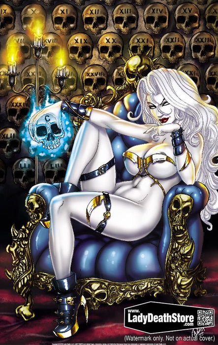 "Lady Death: Friday the 13th Centennial 11x17"" Print"