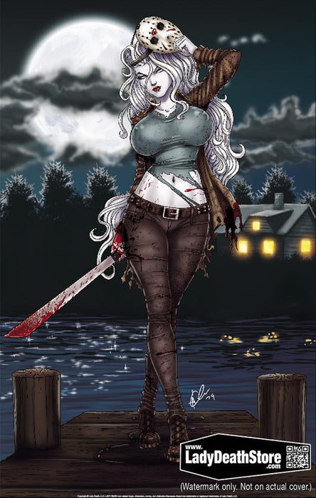 "Lady Death: Friday the 13th 2019 11x17"" Print"