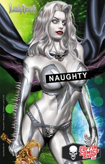 Lady Death: Heartbreaker #1 - Greg Horn Naughty Edition