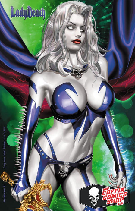 Lady Death: Heartbreaker #1 - Greg Horn Nice Edition