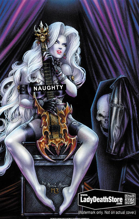 "Lady Death: Hard Rocker 11x17"" Print"