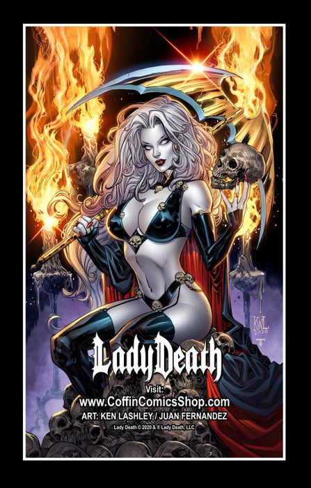 Lady Death: Ken Lashley Ultimate Fridge Magnet