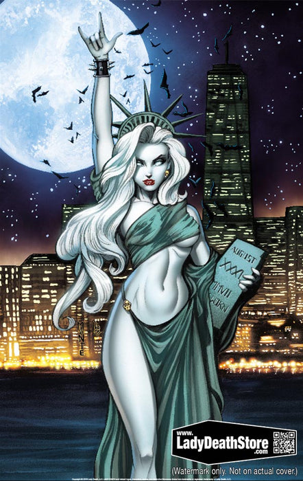 "Lady Death: Liberty or Death 11x17"" Print"