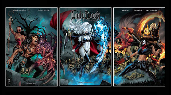 Lady Death: Malevolent Decimation - Rogues Editions 3-Book Set