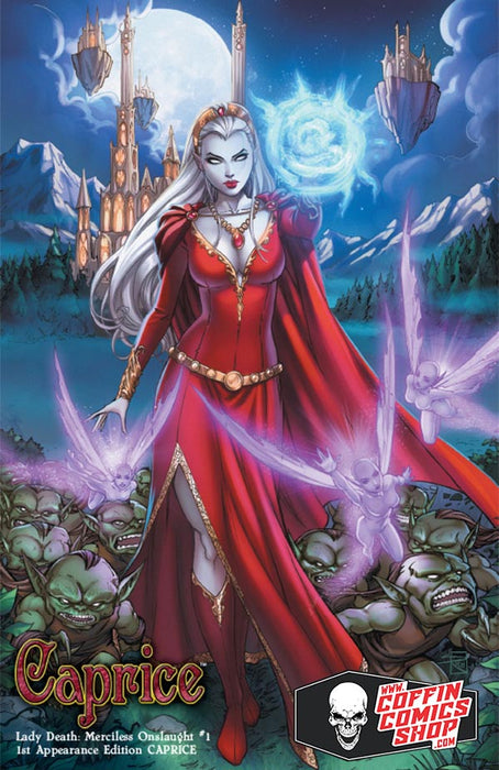 Lady Death: Merciless Onslaught - 1st Appearance Edition (Caprice)