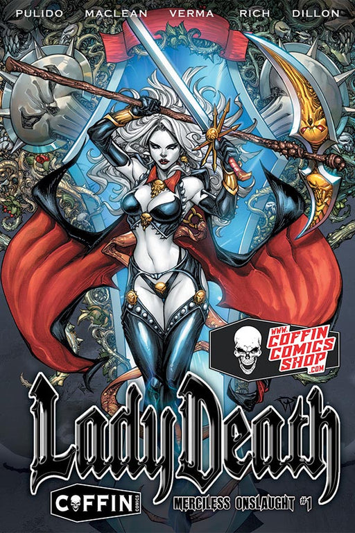 Lady Death: Merciless Onslaught - Hardcover Edition - Brian Pulido