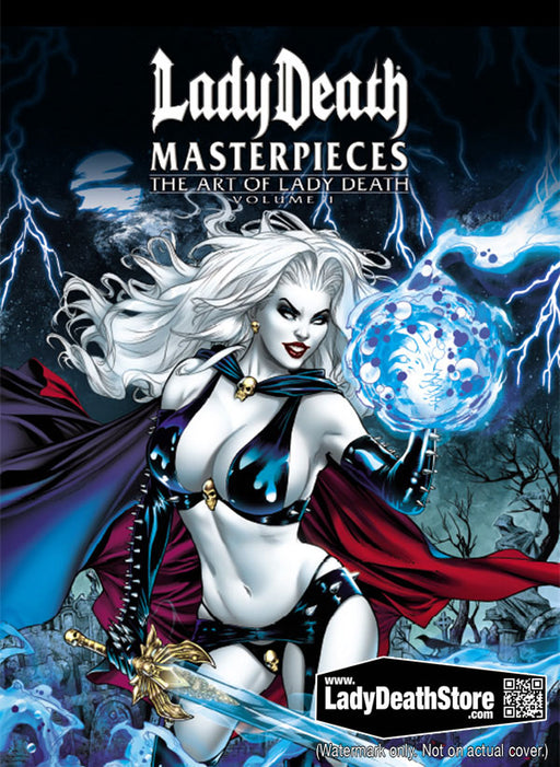 Lady Death Masterpieces The Art Of Lady Death Volume 1