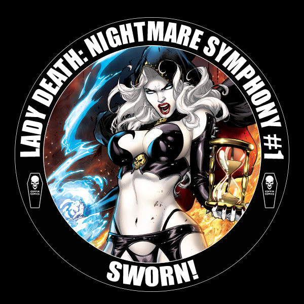 Lady Death: Nightmare Symphony Campaign Vinyl Sticker
