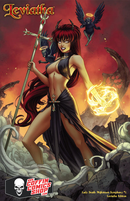 Lady Death Nightmare Synphony # 2 Maria Sanapo Variant Cover Edition !! NM