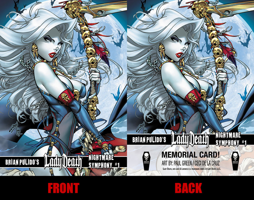 Lady Death: Nightmare Symphony Memorial Trading Card #2