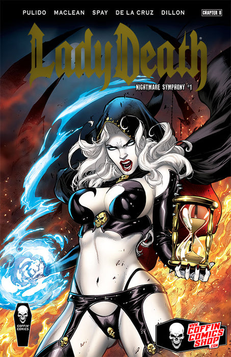 Lady Death: Nightmare Symphony - Premiere Edition - Gold Foil