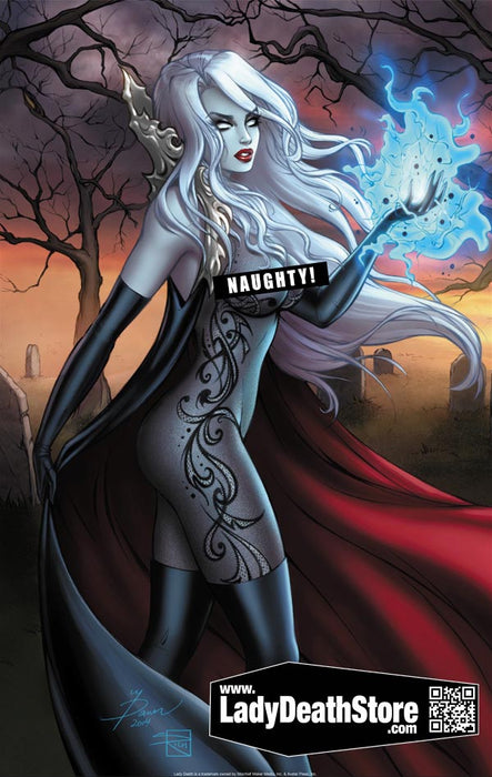 "Lady Death: Naughty Autumn 11x17"" Print"