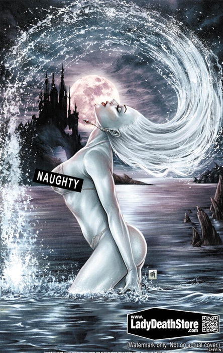 "Lady Death: Naughty Azure 11x17"" Print"