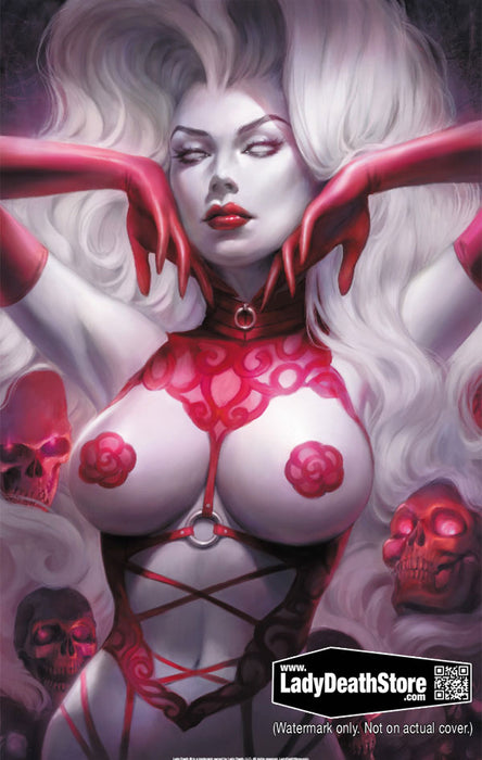 "Lady Death: Naughty Exotic 11x17"" Print"