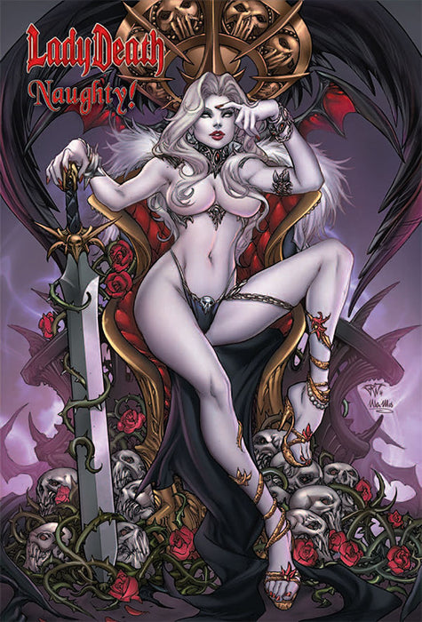 Lady Death: Naughty! Hardcover Art Book