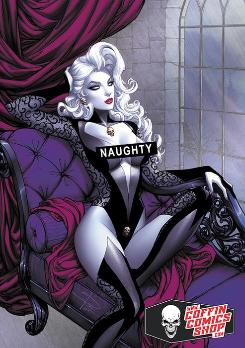 Lady Death: Naughty Thoughts Metallicard