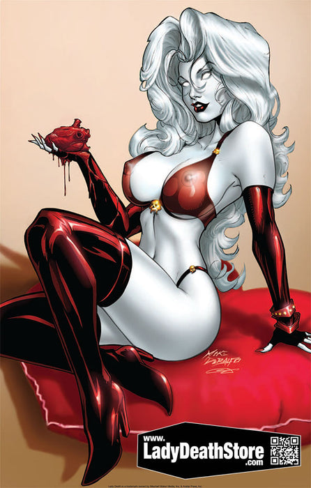 "Lady Death: Naughty Valentine 11x17"" Print"