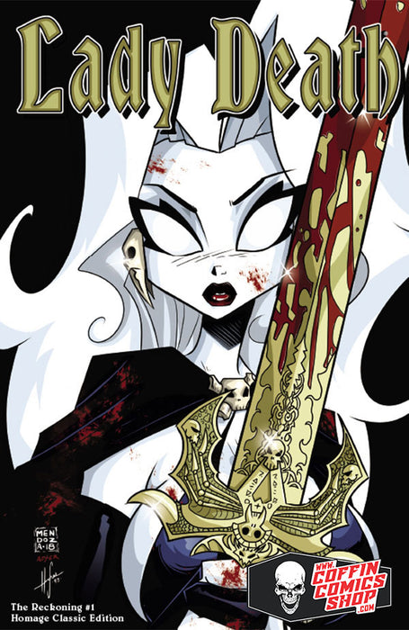 Lady Death: The Reckoning #1 - Homage Classic Edition