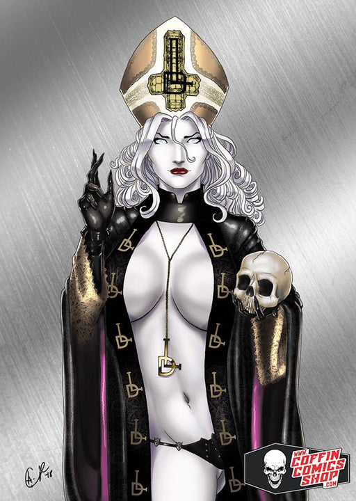 Lady Death: Ritual III Metallicard