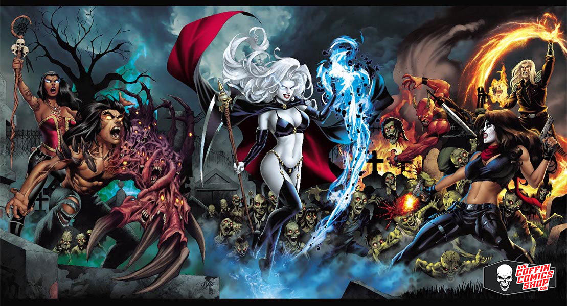 "Lady Death: Rogues 24x36"" Poster"