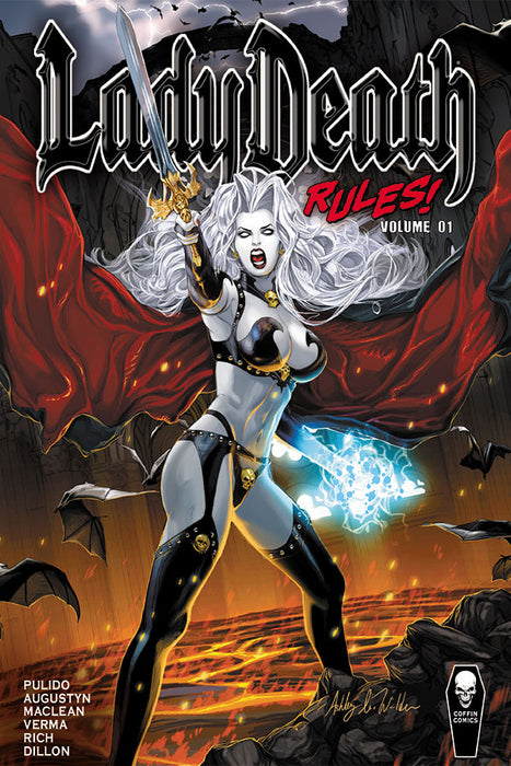 Lady Death Rules! Vol. 1 Trade Hardcover
