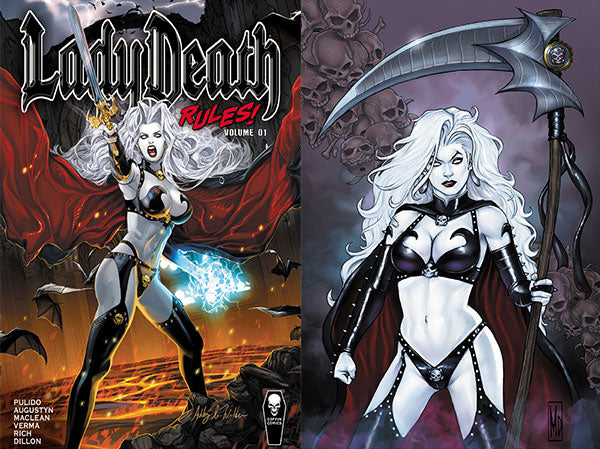 Lady Death Rules! Vol. 1 Trade Hardcover - Signed Special Edition