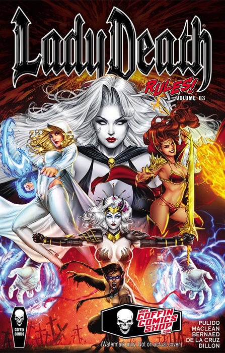 Lady Death Rules! Vol. 3 - Trade Paperback