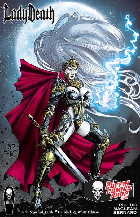 Lady Death: Scorched Earth #1 - Black & White Edition