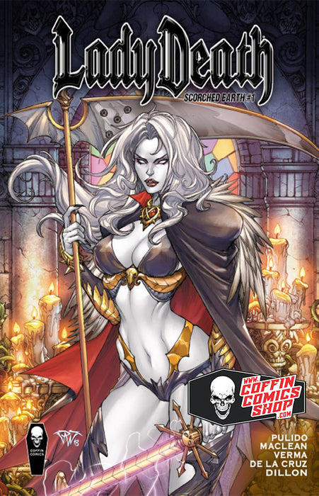 Lady Death: Scorched Earth - Hardcover Edition