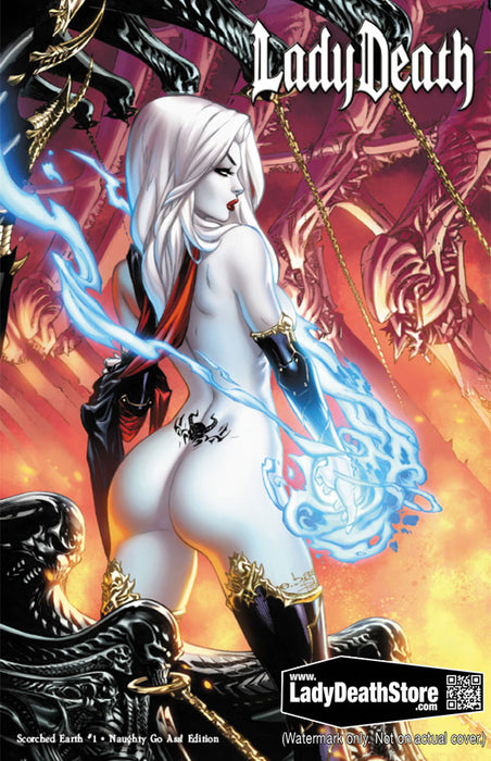Lady Death: Scorched Earth - Naughty Go Ass! Edition
