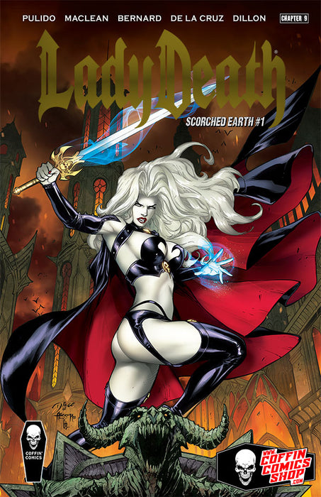 Lady Death: Scorched Earth - Premiere Edition - Gold Foil