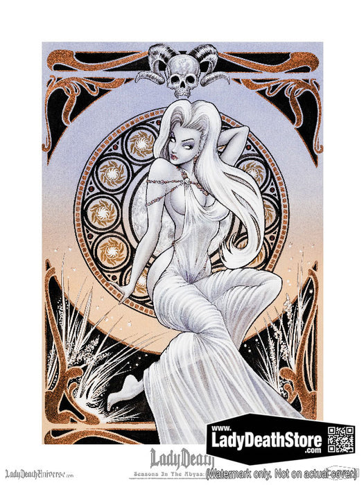 "Lady Death: Seasons in the Abyss Summer 18x24"" Fine Art Print"