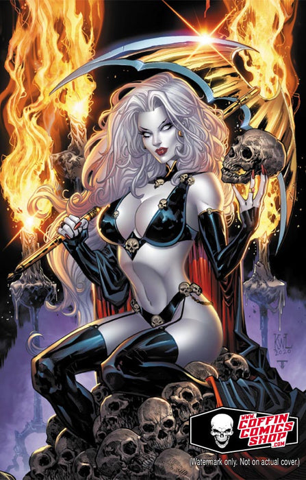 "Lady Death: Sitting Pretty 24x36"" Poster"