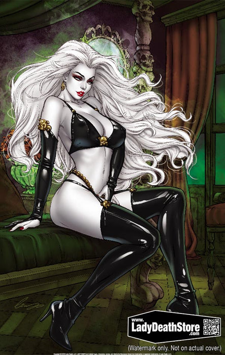 "Lady Death: Solo 2019 11x17"" Print"
