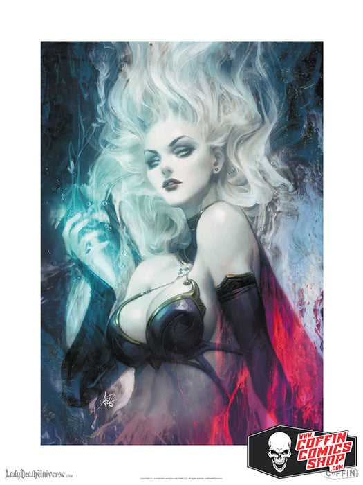 "Lady Death: Sorceress 18x24"" Fine Art Print"