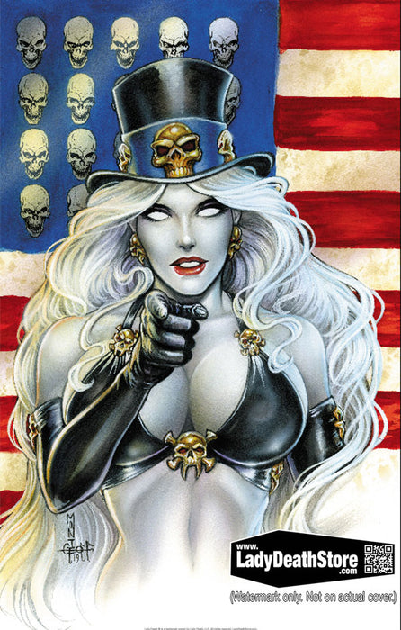 "Lady Death: Sworn Nation 11x17"" Print"