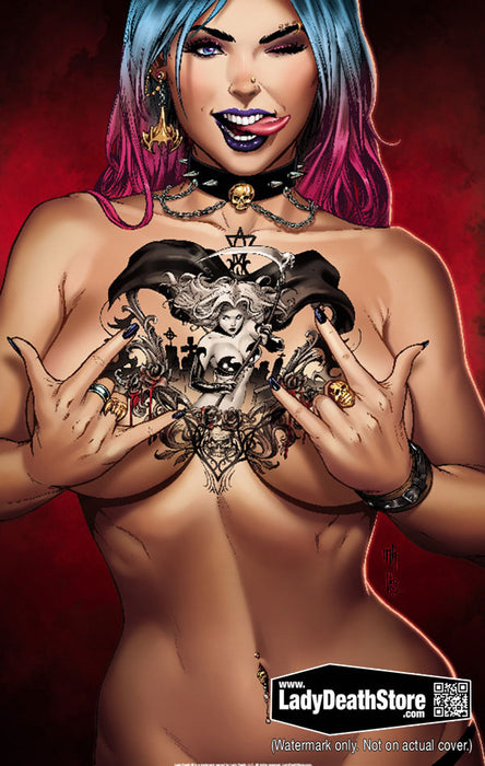 "Lady Death: Sworn 11x17"" Print"