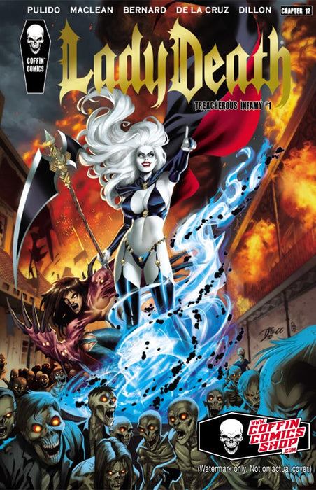 Lady Death: Treacherous Infamy - Premiere Edition - Gold Foil