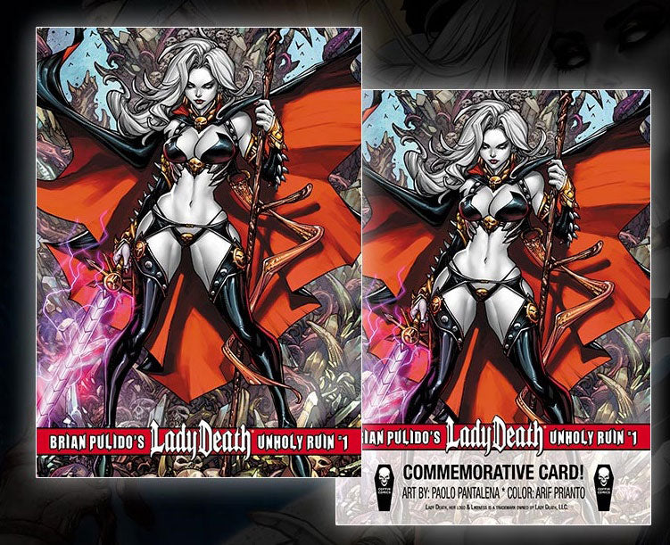 Lady Death: Unholy Ruin Commemorative Trading Card