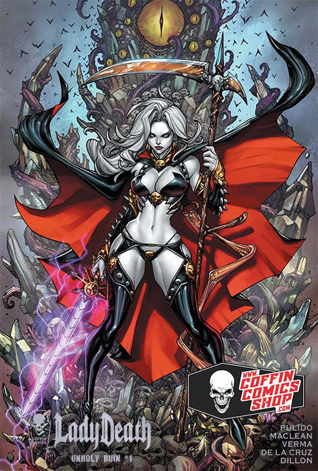 Lady Death: Unholy Ruin - Hardcover Edition