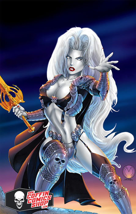 "Lady Death: Warrior 11x17"" Print"