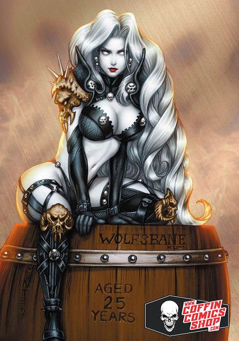 Lady Death: Wolfsbane Metallicard