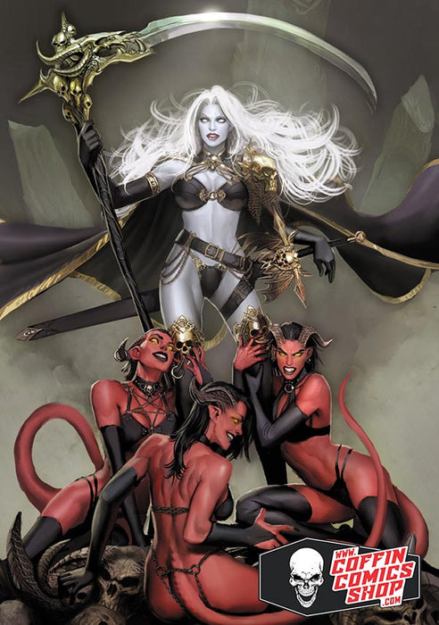 Lady Death: Worship Metallicard