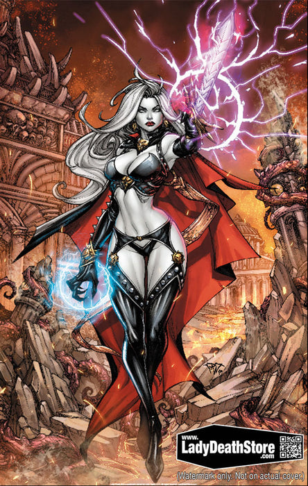 "Lady Death: Wrecker 11x17"" Print"