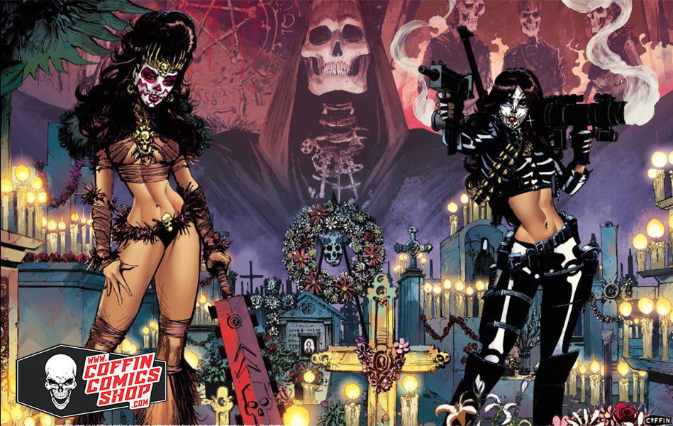 "La Muerta: Deadly Duo 11x17"" Print"