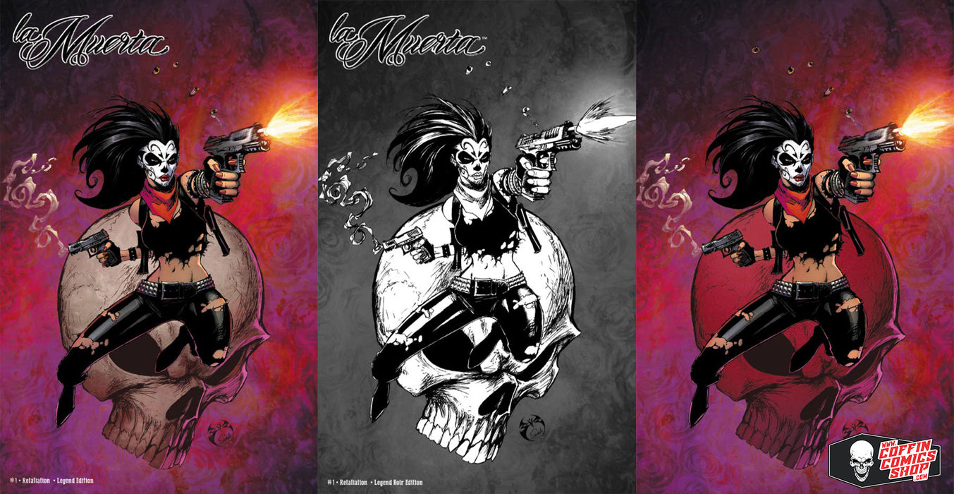La Muerta: Retaliation #1 - Legend 3-Book Set