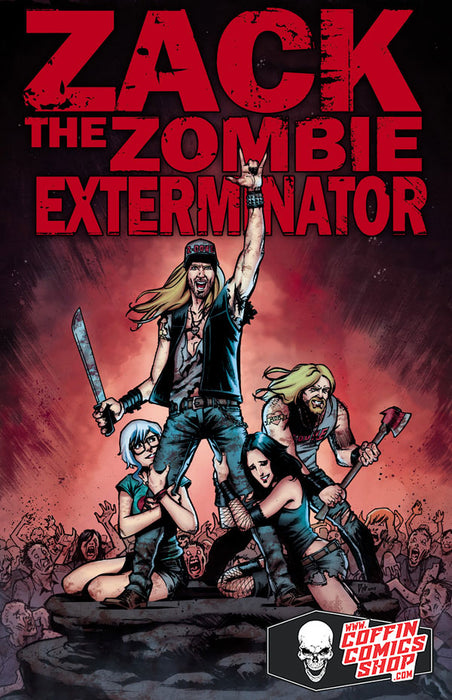Zack the Zombie Exterminator - Preview - Pulido Signed